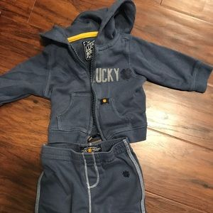Lucky Brand Baby track suit 0/3 months